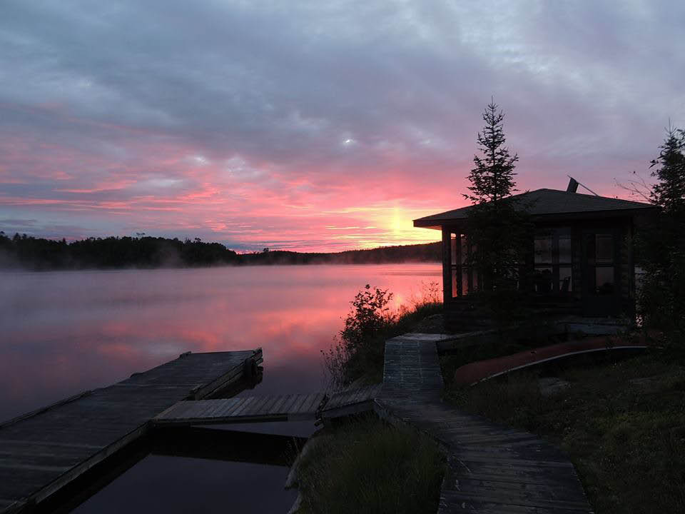 Big North Lodge Sunsets