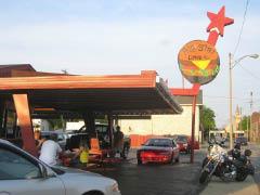 Big Star Drive In Burger Restaurant Logo in Kenosha, WI