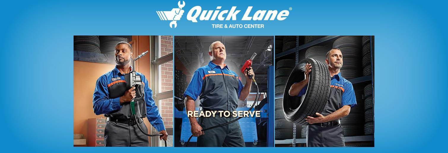 quick lane tire & auto center service