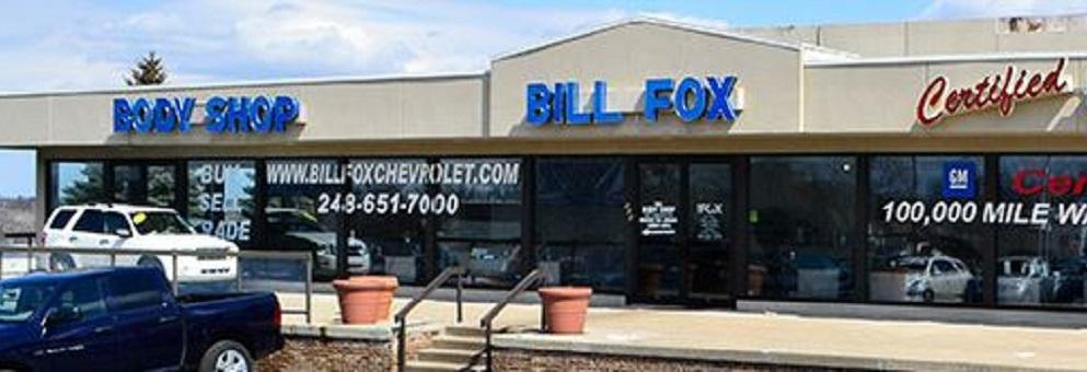 photo of the exterior of Bill Fox Chevrolet in Rochester Hills, MI