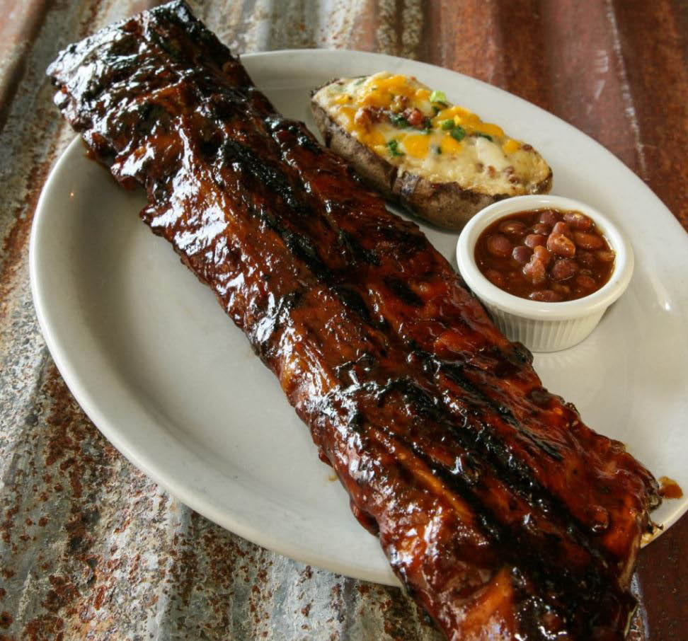 Baby back ribs - delicious bbq - Billy McHale's restaurant & bar in Federal Way, Washington - Federal Way nightlife - Federal Way restaurants near me - dining near me in Federal Way
