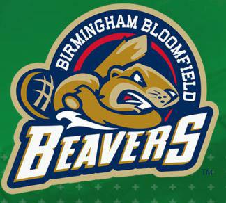 logo of the Birmingham/Bloomfield Beavers professional baseball team