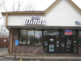 Budget Blinds Andover, MN Showroom Front