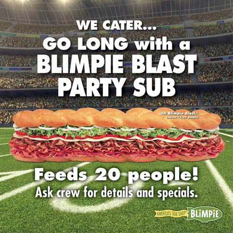 Sandwich Catering 07205 - Sandwich Catering Coupons Hillside - Football Catering Hillside, NJ