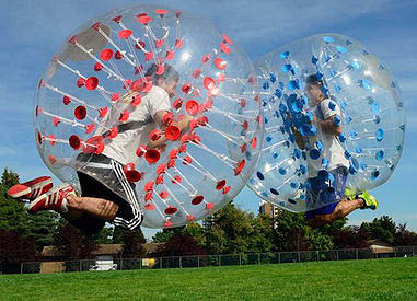 Blue Sky Inflatables Bubble Ball in Racine County