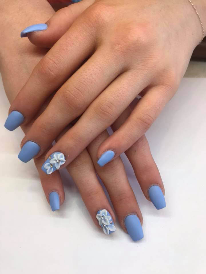 Blue-Nail-Design