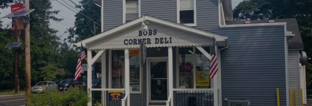 Bob's Corner Deli in Roebling, New Jersey banner