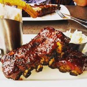 Baby back ribs sports bar food near Weston, FL