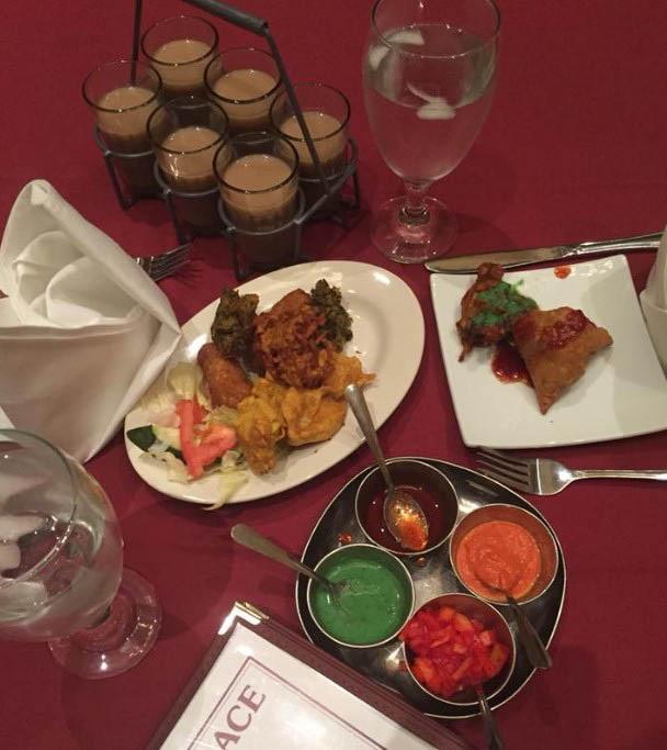 New to Indian food? Try our buffet.