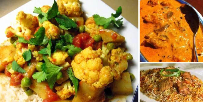 Enjoy exotic stir fry dishes and other Indian food in Nashville.