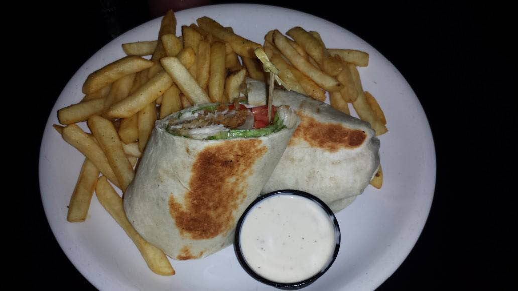 Borgetti's wraps and fries for lunch or dinner