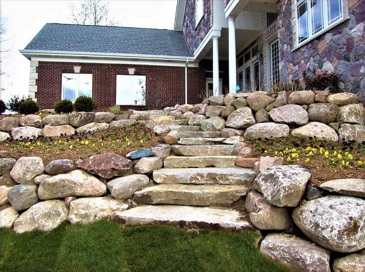 Boulders & Steps