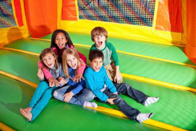 Big Home & Garden Show - St Martin's University Marcus Pavilion - April 25 & 26, 2019 - Bouncy House for the Kids