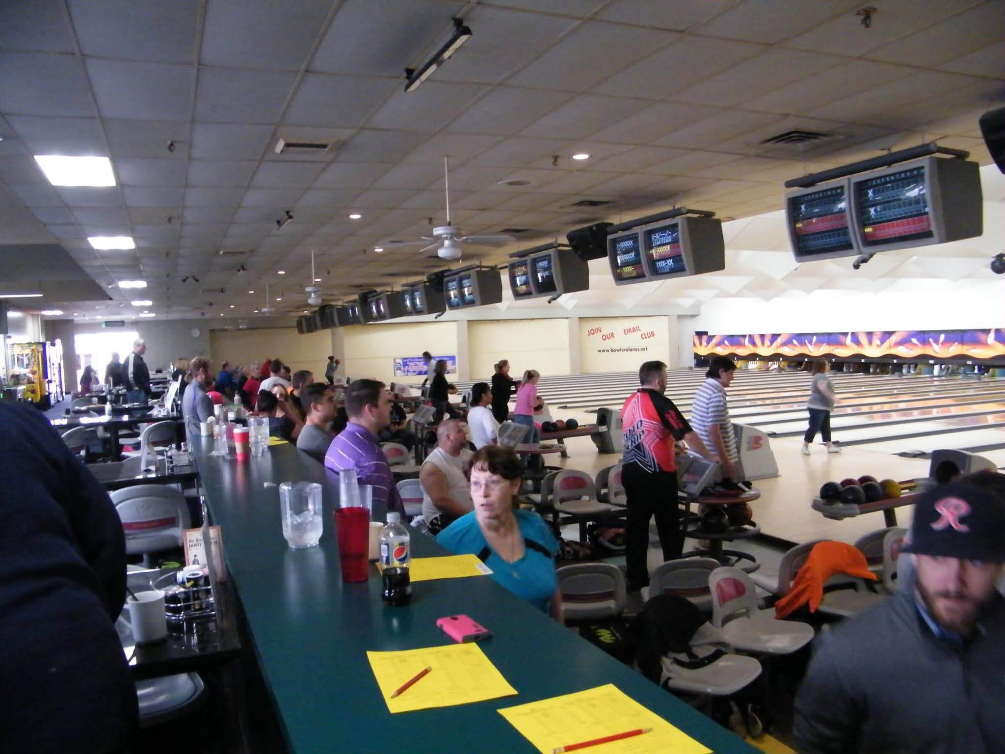 Inside Bowlero Lanes - Lakewood, Washington - Lakewood bowling alley - bowl with friends - enjoy great food