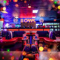 bowling, food, lounge, parties, fun