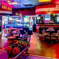 bowl, ball, bowling shoes, arcade, laser tag, bumper cars
