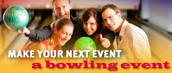 Make your next event a bowling event in Pacheco, CA