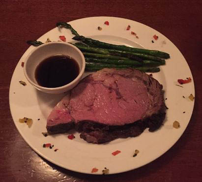 Boyds Steakhouse, Lunch, Dinner, Brunch, Steak, Seafood, Vegetables, Asparagus