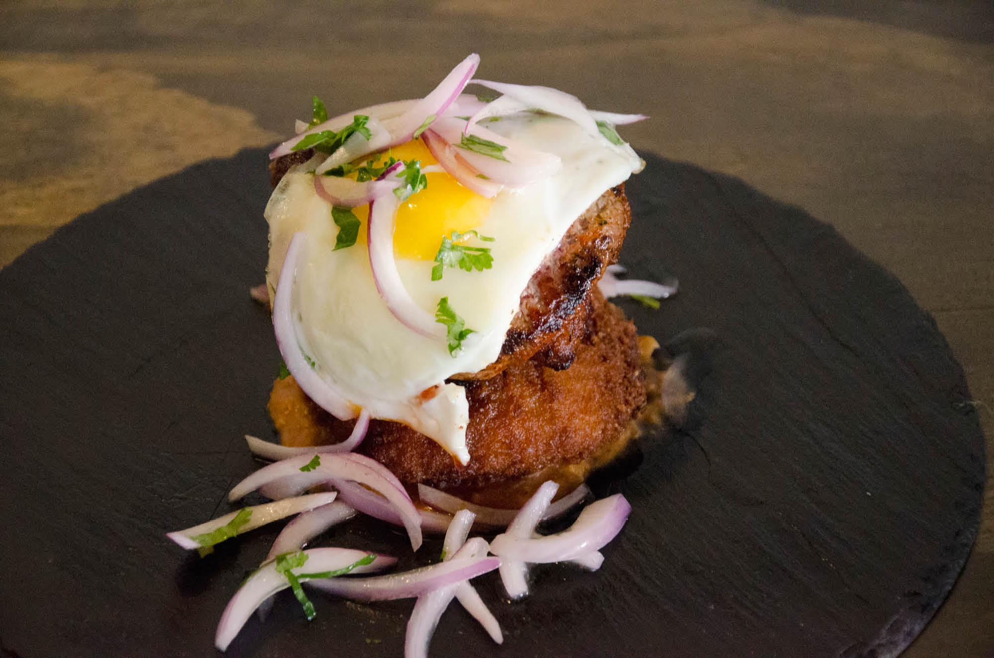 Delicious Peruvian Tacu at Brasa & Pisco