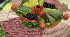 photo of deli tray from The Bread Basket Deli and Al's Famous Deli