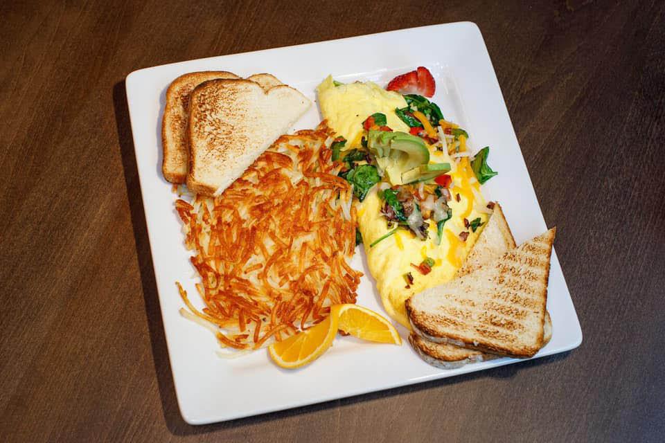 Delicious breakfast served at Aurora Borealis in Shoreline, WA - breakfast near me - Shoreline restaurants near me - Shoreline dining near me - dining coupons near me - restaurant coupons near me