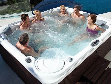 Huge selection of hot tubs with many on display near Antioch, CA