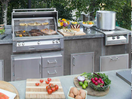 Allow Brentwood Outdoor Living near Knightsen, CA to design your perfect outdoor kitchen