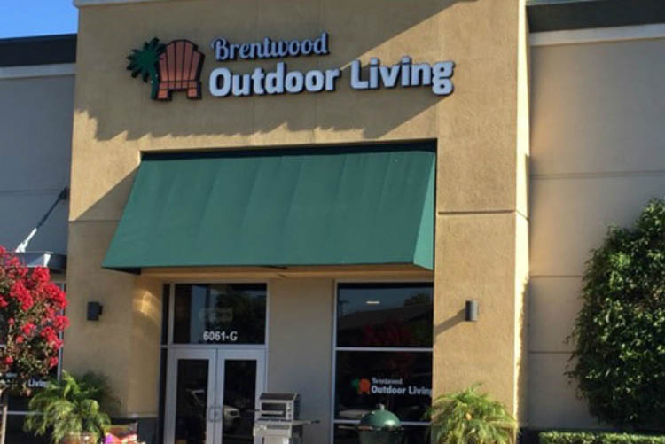Visit Brentwood Outdoor Living showroom in Brentwood, CA