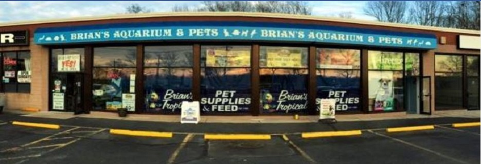 Brian's Tropical Aquarium & Pets banner Rocky Point, NY