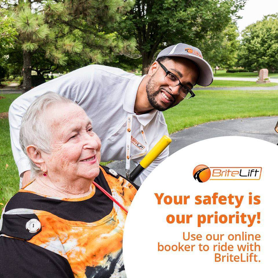 Wheelchair accessible van service in Chicago and Suburbs