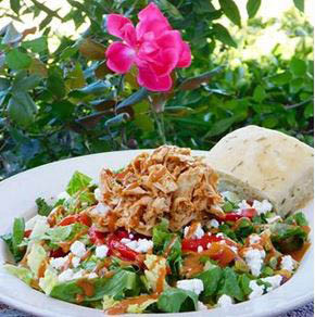 A Crispy Garden Green Salad near Brentwood