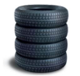 photo of four tires for sale at Quick Lane Tire & Auto Center at Brondes Ford in Toledo, OH
