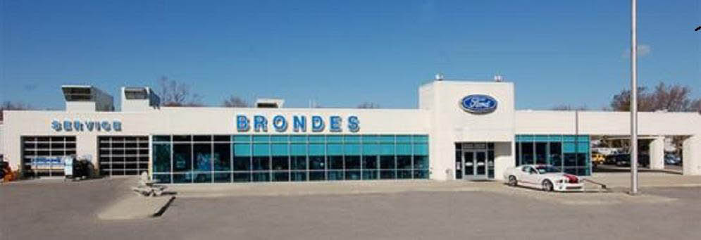 photo of exterior of Brondes Ford in Toledo, OH