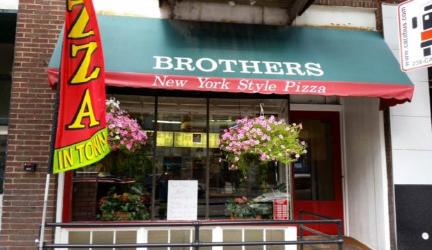 Brother's Ny Style Pizzeria exterior in Bellefonte, PA
