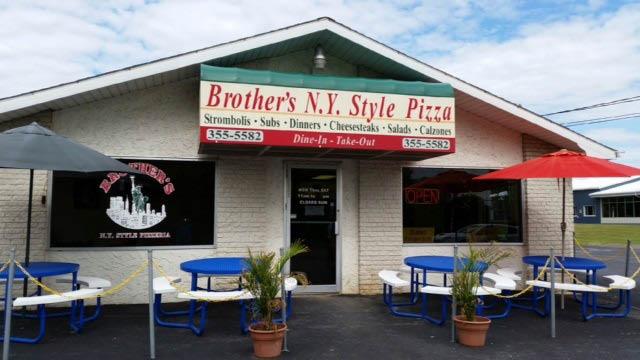 Brother's Ny Style Pizzeria exterior near Milesburg, PA