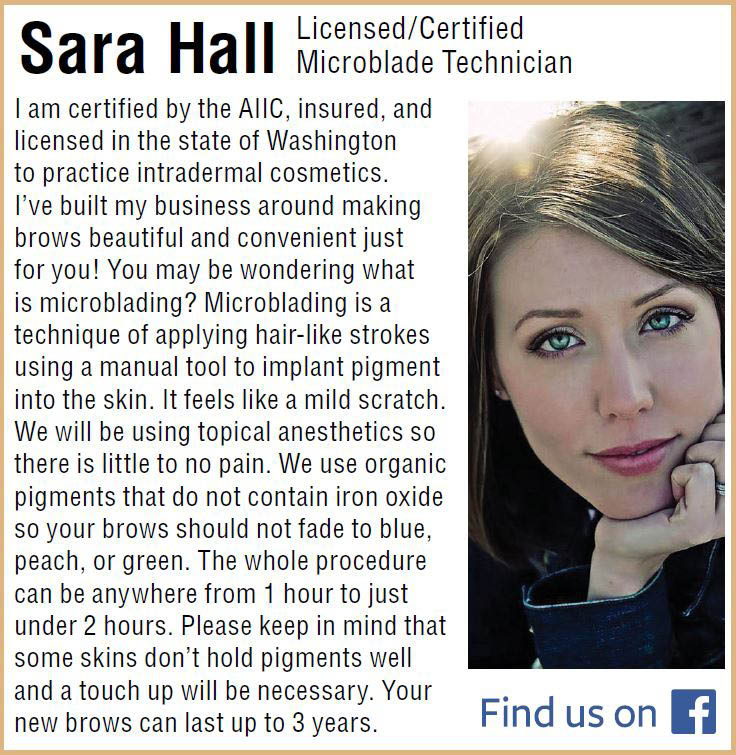 Brow Buzz Microblading - Sara Hall - Licensed/Certified Microblade Technician