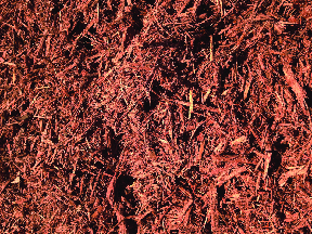 brown red mulch
