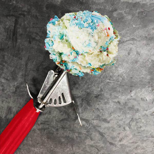 ice cream, Bruster's, scoop,