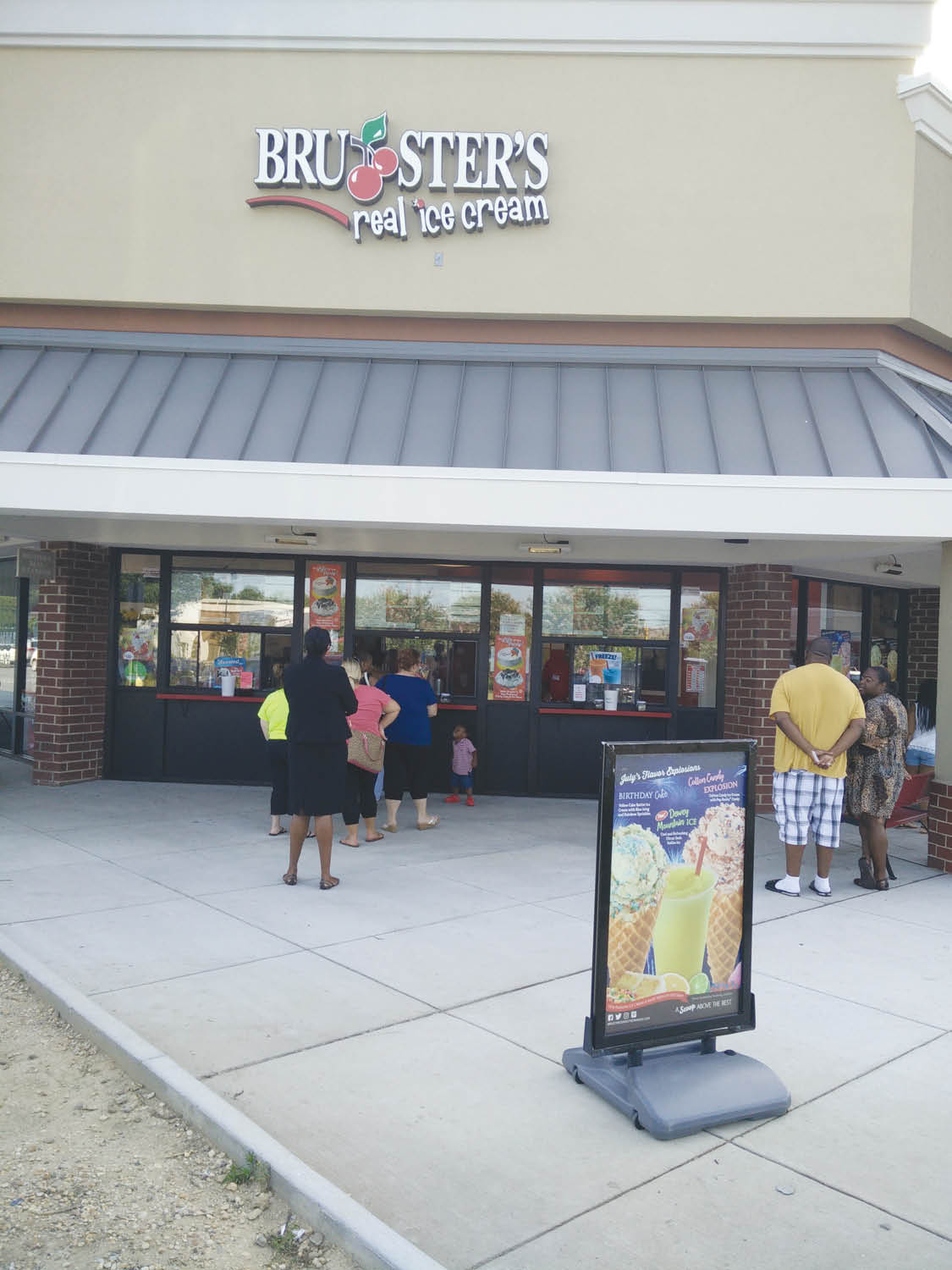 bruster's real ice cream in waldorf, maryland