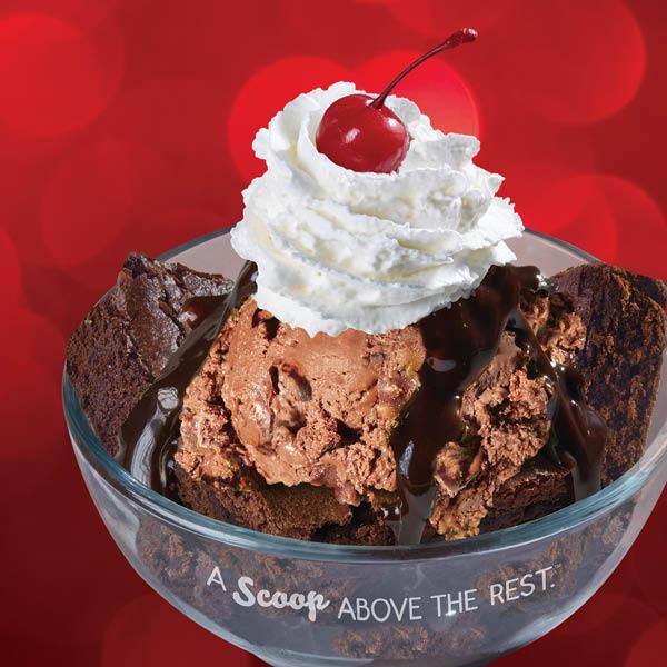 Brownie ice cream, vanilla, chocolate strawberry ice cream in Gilbert, AZ