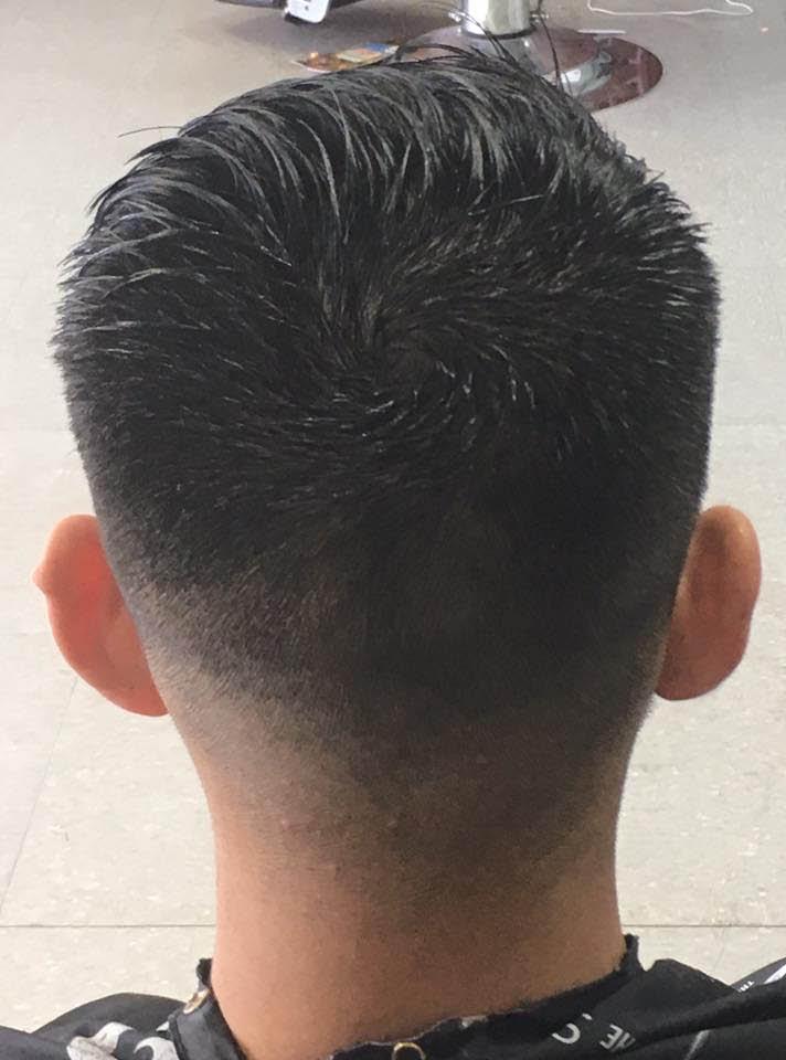 Fresh and modern men's cut