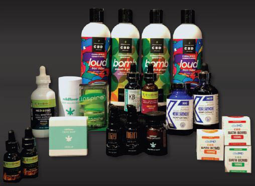 Buddy's Goodies and Glass in Renton, Washington - large selection of CBD products - Renton CBD shops near me