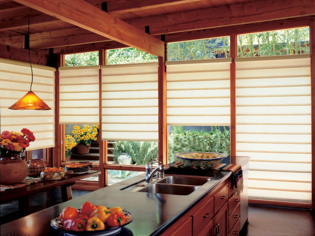 Marysville, WA Budget Blinds - cordless top down/bottom up shades