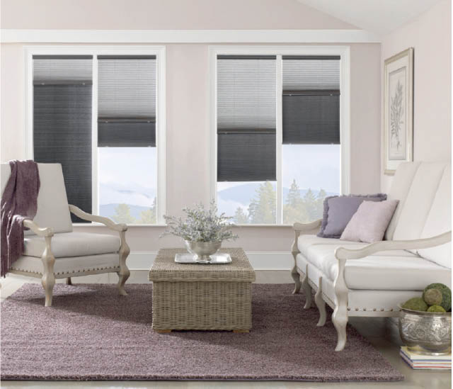 window treatments top down bottom up