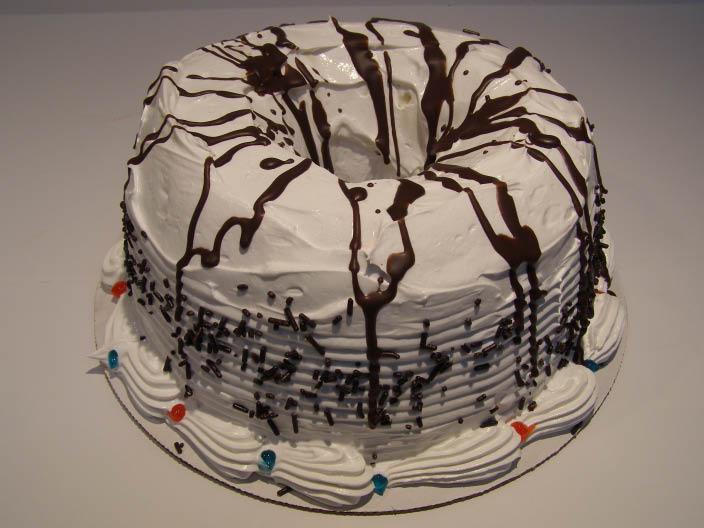 Ice Cream, Cake, Ice Cream Cake, Bundt Cake, Chocolate, Vanilla, Soft Serve, Celebration, Debbie's Soft Serve