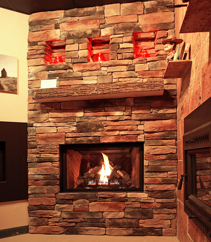 Photo of Burlington Fireplace & Heating Gas Fireplace in Milwaukee, WI.