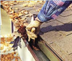 Gutter Cleaning by Burrini's Power Washing in Randolph NJ