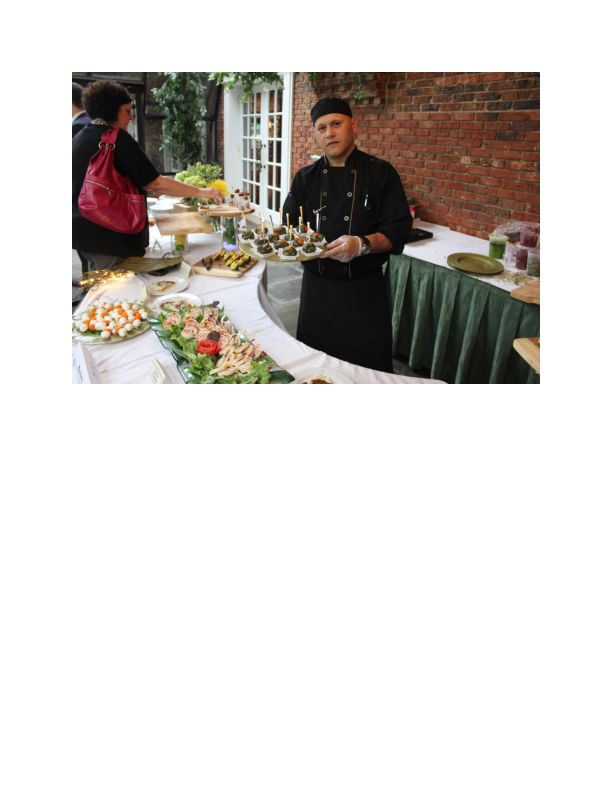 Catering services provided by Burrini's Market in Randolph NJ