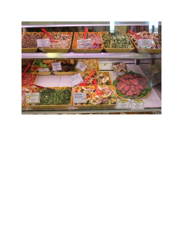 Specialty Items available at Burriini's Market in Randolph NJ