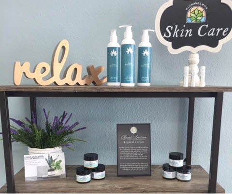 CBD skin care products at You CBD Store